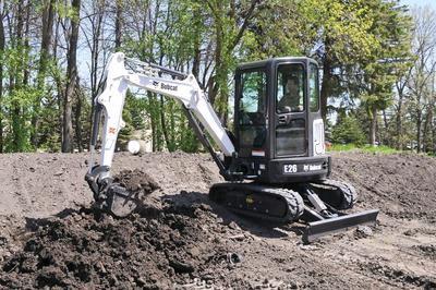 Where to find Bobcat E26 Excavator 8 Depth W 20 Bucket in Delano