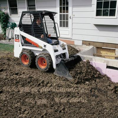 Where to find BOBCAT S-70 SKIDSTEER W  TRAILER PKG. in Delano