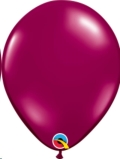 Where to rent 11  JE Solid Latex Burgundy Balloon in Delano MN