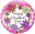 Rental store for Mom Happy Mothers Day Floral 18  Balloon in Delano MN