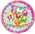 Where to rent 18 Foil Rnd Licensed Shopkins Balloon in Delano MN