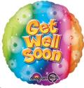 Where to rent 17 Foil RND Get Well Soon Balloon in Delano MN