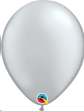 Where to rent 11  ME Solid Latex Metal. Silver Balloon in Delano MN