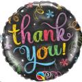 Where to rent 18 Foil Rnd Thank You Chalkboard Balloon in Delano MN