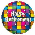 Where to rent 18  Foil RND Happy Retirement Balloon in Delano MN