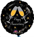 Where to rent 18  Foil RND Happy Anniversary Balloon in Delano MN