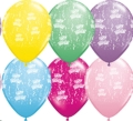 Where to rent 11  Latex Bday-A-Rnd Pastel Balloon in Delano MN