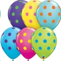 Where to rent 11  Big Polka Dots Colorful Balloon in Delano MN