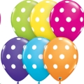 Where to rent 11  Big Polka Dots Tropical Balloon in Delano MN