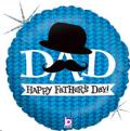 Rental store for Dad Dapper Dad Fathers Day 18  Balloon in Delano MN