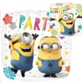 Where to rent HXFoil RND Minions Party Balloon in Delano MN