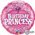 Where to rent GBD18  Foil Birthday Princess Balloon in Delano MN