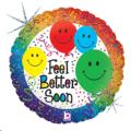 Rental store for Feel Better Soon Smile 18  Balloon in Delano MN
