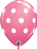 Where to rent XLA11  Big Polka Dots Rose Balloon in Delano MN
