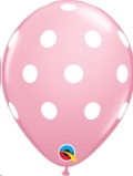 Where to rent XLA11  Big Polka Dots Pink Balloon in Delano MN