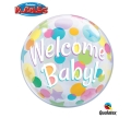 Where to rent N22 Bubble Welcome Baby Dots Balloon in Delano MN