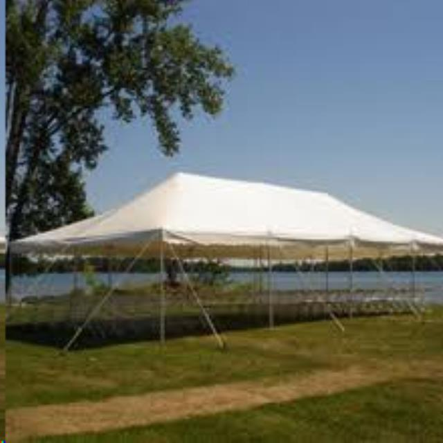 Where to find Pole Tent 20 x20 x7  Customer Install in Delano
