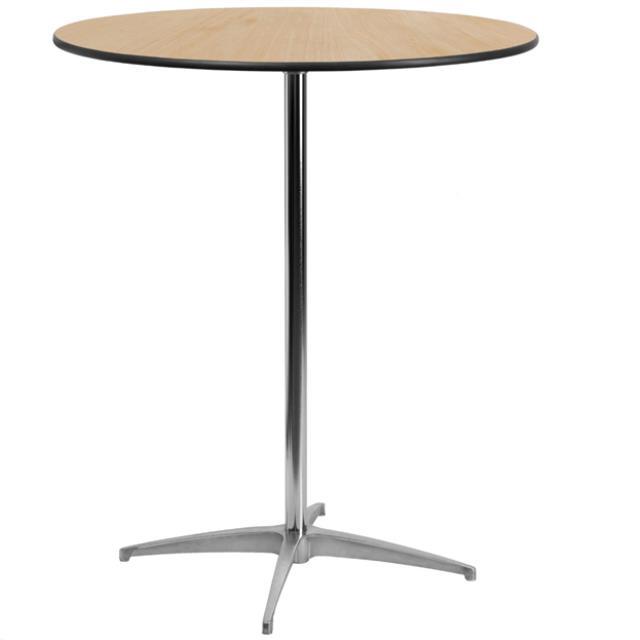 Table Round 36 Inch Pedestal 42 Inch Height Rentals Delano Mn
